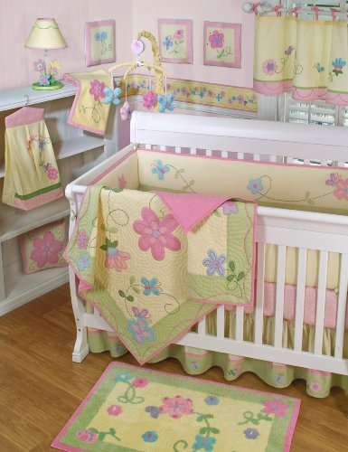 Low Price On Sumersault Charlotte 4 Piece Crib Set