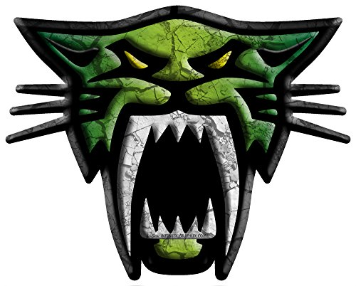 ARCTIC-CAT-SABER-CAT-12-X-15-KIT-CRACKED-DARK-GREEN-CHARTREUSE-DARK-GREEN-by-ITIGD-Vinyl-Decal