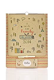 Smile A Day 2014 Family Organiser[T21-3505A-S]