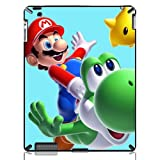 Super Mario World Yoshi Hard Back Protective Case Cover for The New iPad 2 3 4 iMCA-CP-16881 Apple i Pad Tablet PC Housing