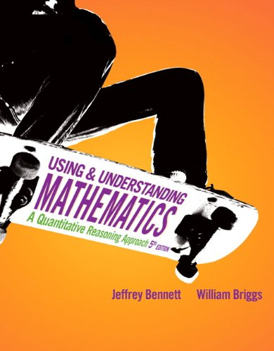 Using and Understanding Mathematics: A Quantitative...