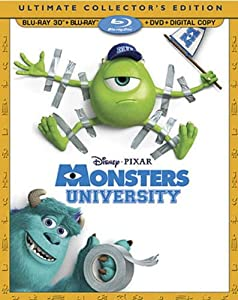 Monsters University 3D: Ultimate Collector's Edition (Bilingual) [Blu-ray 3D + Blu-ray + DVD + Digital Copy]