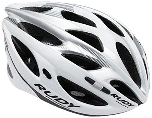 Rudy Project Zumax Casco, White/Silver Shiny, L