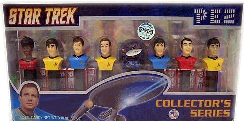 PEZ Star Trek Limited Edition, Numbered Collectors Set, 3.48-Ounce Box by Pez Candy (Numbered Candy compare prices)