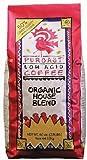 Puroast Low Acid Coffee Organic House Blend Whole Bean, 2.5-Pound Bags