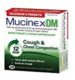 Mucinex Max Strength Dm Expectorant & Cough Suppressant, Bi-Layer Tablets, 28-Count