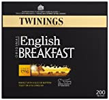 Twinings English Breakfast Tea Bags 500 g (Organic)