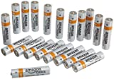 AmazonBasics AAA Alkaline Batteries (Pack of 20)