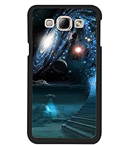ColourCraft The Galaxy Design Back Case Cover for SAMSUNG GALAXY A8