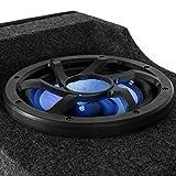 Auna-Boomcase-X8-Doppel-Auto-Subwoofer-Lautsprecherbox-fr-Kofferraum-Lautsprecher-mit-LED-Beleuchtung-300W-RMS-Bassbox-2-x-20cm-8-Zoll-Tieftner-LED-Lichteffekt-Holzgehuse-mit-Filz-passiv-schwarz-blau