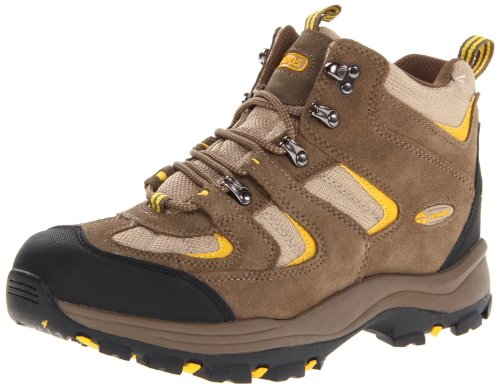 Nevados Men's Boomerang II Mid V1082M Hiking Boot,Shiitake Brown/Mojave Tan/Glow Yellow,7 M US