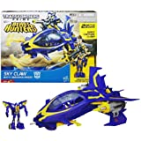 Hasbro Year 2012 Transformers Prime Beast Hunters Series Vehicle Set - SKY CLAW with 2 Mode (Stealth Jet and Assault Fighter), Capture Claw and Opening Cockpit Plus Legion Class 3 Inch Tall SMOKESCREEN Robot Figure