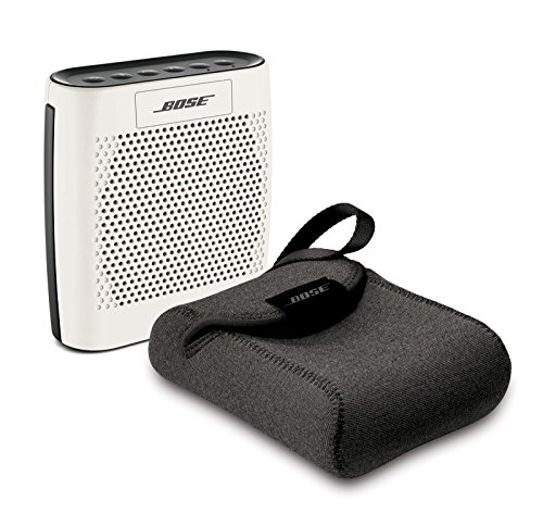 Bose SoundLink Color Bluetooth Wireless Speaker - WHITE & Bose Carry Case - Bundle