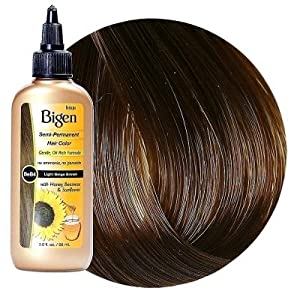 amazoncom bigen semipermanent haircolor beb4 light