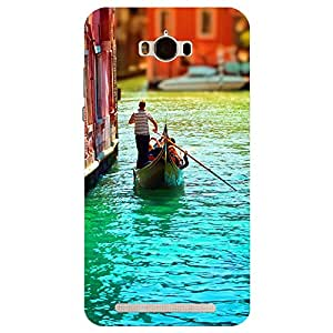 Asus Zenfone Max Love in Venice Printed Back Cover