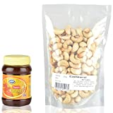 BSP Traders Nutri Honey And Fried Cashew Nut Combo, 530 Grams