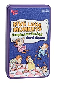 Five Little Monkeys Jumping on Bed Card Game