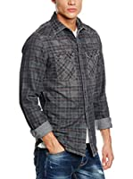 Pepe Jeans London Camisa Hombre Gorn (Gris Oscuro)