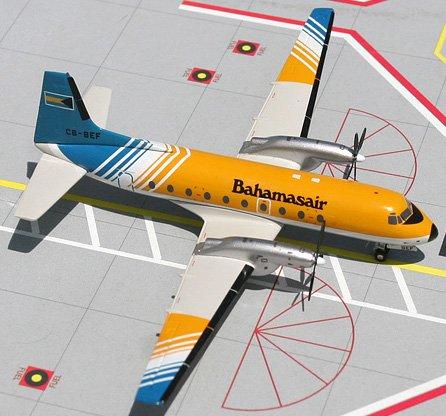 1: 200 ジェミニジェット Bahamasair Hawker Siddeley 748 (並行輸入)