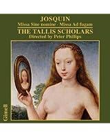 Josquin : Messes. Tallis Scholars, Philips.