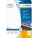 Herma Etiketten A4, 4690, 48,3x25,4 mm extrem stark haftend Folie matt 1100 Stück weiß