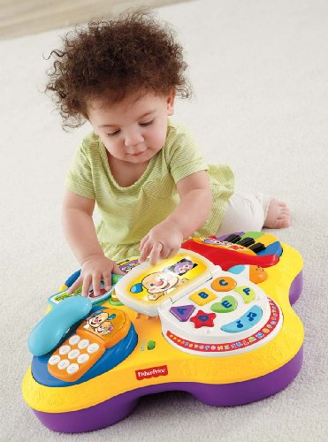 Fisher-Price Play & Learn Table - Walmart.com