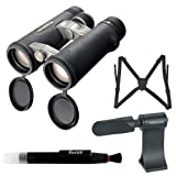 Vanguard Endeavor ED 8x42 Binocular with Harness + Tripod Adaptor + Lens Pen + Accessory Kit