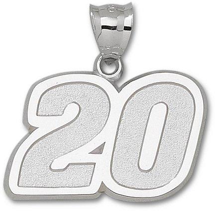 LogoArt Joey Logano Sterling Silver Giant Number Pendant - JOEY LOGANO One Size