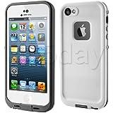 【全13色】iphone5/iphone5s対応ケース 生活防水、防塵、耐衝撃アイフォン5ケース カバー (ホワイト)