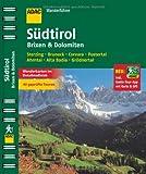 ADAC Wanderführer Südtirol, Brixen & Dolomiten inklusive Gratis Tour App: Sterzing Bruneck Corvara Pustertal Ahrntal Alta Badia