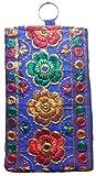 Purpledip Traditional Women's Mobile Pouch Multicolor(pouch01a)