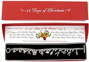 12 Days of Christmas Charm Bracelet