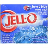 Jell-O Gelatin - Berry Blue - 6 Ounces