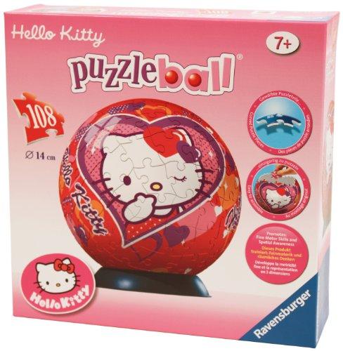 Imagen 2 de Ravensburger 11605- Puzzle infantil de Hello Kitty  (108 piezas)