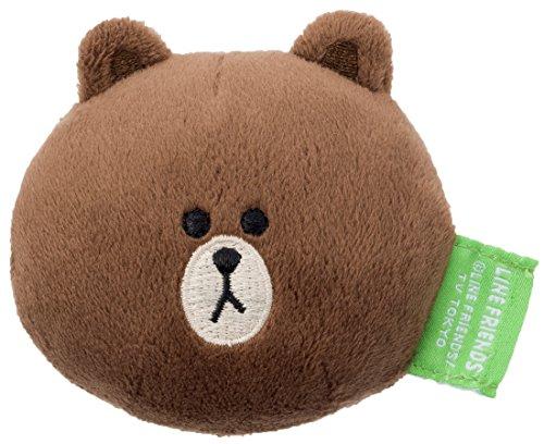 line friends布朗熊暖手抱枕- 01