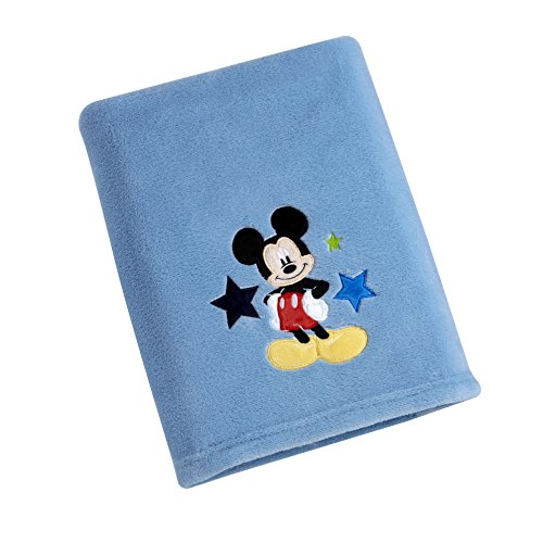 Disney Mickey Blanket, Blue