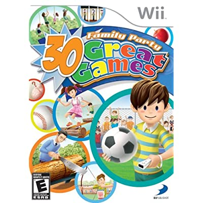 fun 4 player games for wii