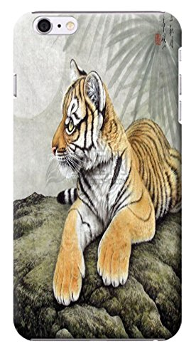 """Huahui Tiger Case / Cover Oil Paintings Chinese Drowing Special Design Cell Phone Cases For Iphone 6 (4.7"""") Hard Cases No.7"""
