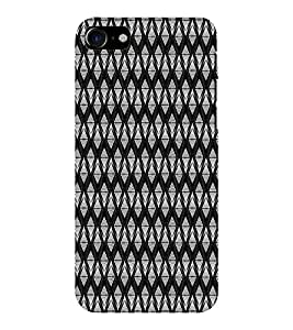 EPICCASE diamond fence Mobile Back Case Cover For Apple iPhone 7 (Designer Case)