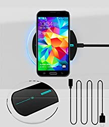 Nillkin Magic Disk II Qi Wireless Charger Dock Station + Wireless Charging Receiver for Samsung Galaxy S5 G900