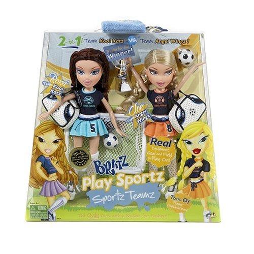 Bratz Play Sportz Teamz Soccer- Roxxi & Cloe - Buy Bratz Play Sportz Teamz Soccer- Roxxi & Cloe - Purchase Bratz Play Sportz Teamz Soccer- Roxxi & Cloe (MGA, Toys & Games,Categories,Dolls,Fashion Dolls)
