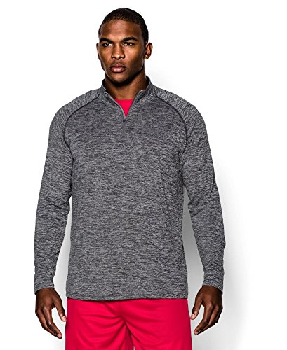 Under Armour Men's Tech ¼ Zip, Black (005), Small