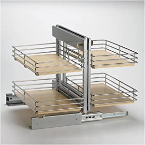Slide Out Base Right Blind Corner Shelving Unit by Knape & Vogt