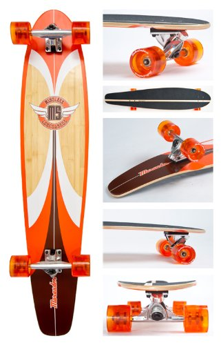 Mindless Marauder Longboard - Orange Ml2200