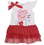 New 2014 Summer Peppa Pig dress for girl , girl dress, 100% cotton, girl clothing (3 Year, Red Style)
