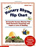 img - for Nursery Rhyme Flip Chart: 20 Favorite Nursery Rhymes That Build Phonemic Awareness and Inspire a Love of Reading book / textbook / text book