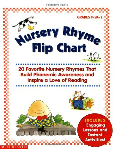 Nursery Rhyme Flip Chart: 20 Favorite Nursery Rhymes That Build Phonemic Awareness and Inspire a Love of Reading (Phonic Flip Chart compare prices)
