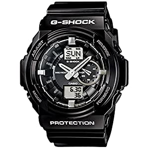 Casio G-shock Ga-150bw-1 Big Combination Military Watch - Shinny Black and White Limited Edition Ga150bw-1adr