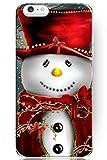 SPRAWL neue harte Handy Hülle für IPhone6 (4,7 Zoll) mit Weihnachten Schneemann trägt ein rotes Kleid