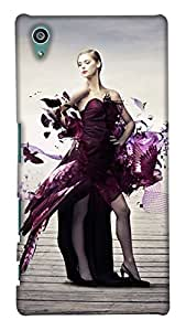 Print Haat Back Case Cover for Sony Xperia Z5 (Multicolor)